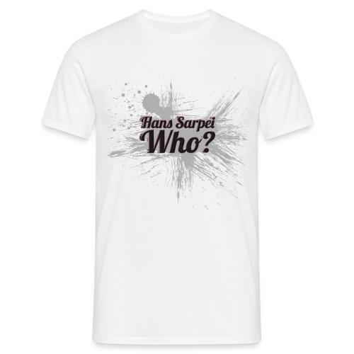 Hans Sarpei - Who? Design-Shirt - Männer T-Shirt