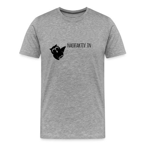 Betrunkene Eule - Männer Premium T-Shirt