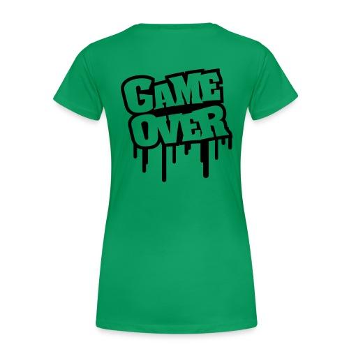 Game Over donna - Maglietta Premium da donna