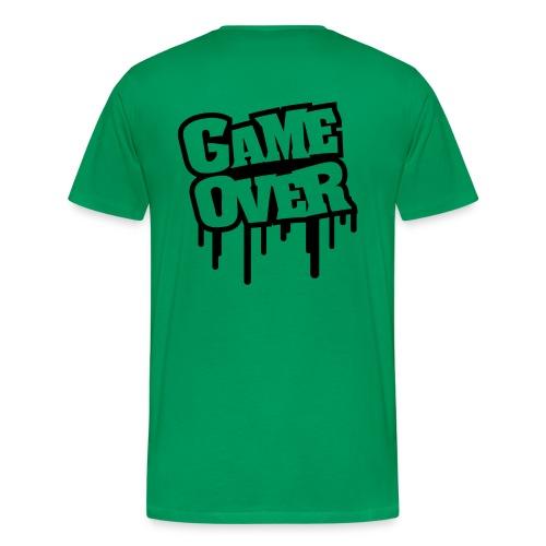 Game Over uomo - Maglietta Premium da uomo