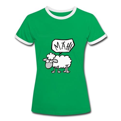 Mäh!  - Frauen Kontrast-T-Shirt