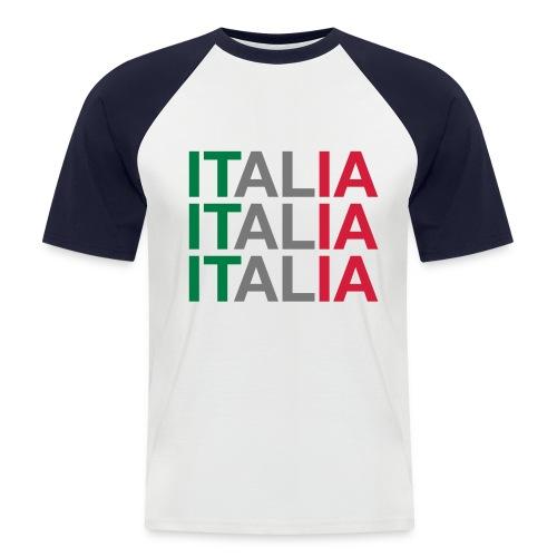 ITALIA - Männer Baseball-T-Shirt