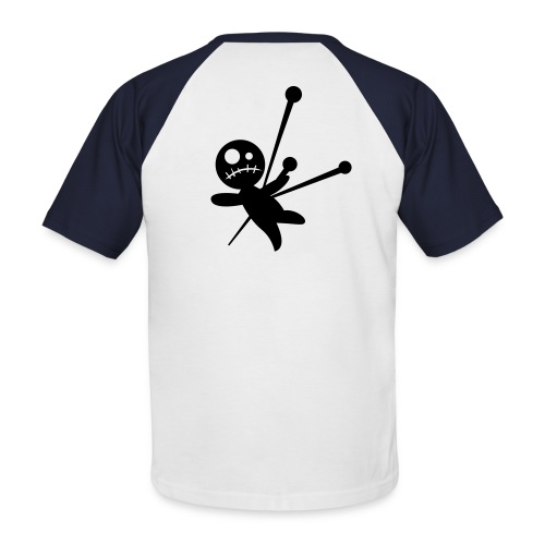 voodoo boos - Mannen baseballshirt korte mouw
