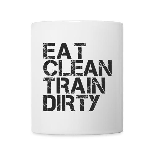 Eat Clean Train Dirty mug - Mug