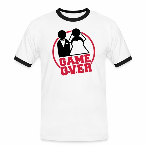 It's my life - Game Over  - T-shirt contrasté Homme