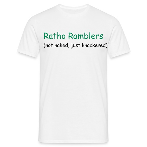 Ratho Ramblers t-shirt - Men's T-Shirt