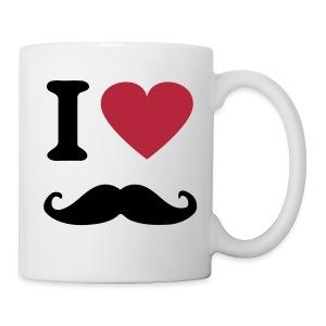 Mustage Moustache Tasse - Tasse
