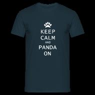 T-shirts ~ Mannen T-shirt ~ Panda On Mannen T-Shirt