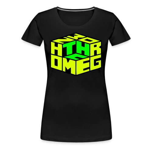 THC Shirt Girls - Frauen Premium T-Shirt