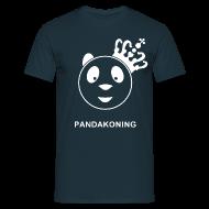 T-shirts ~ Mannen T-shirt ~ Pandakoning II Man Wit