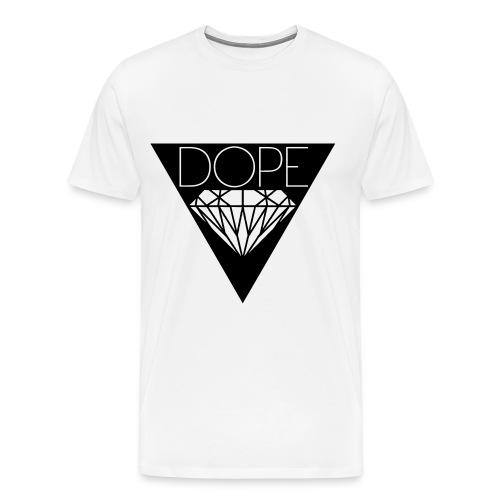 Männer T-Shirt Classic DOPE Weiss - Männer Premium T-Shirt
