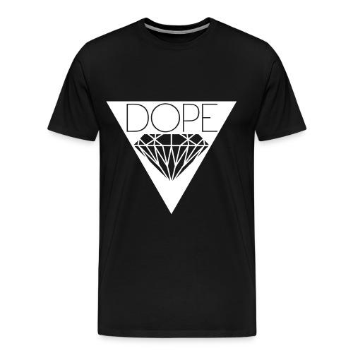 Männer T-Shirt Classic DOPE Schwarz - Männer Premium T-Shirt