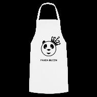 Kookschorten ~ Keukenschort ~ Panda Queen II Vrouw Schort