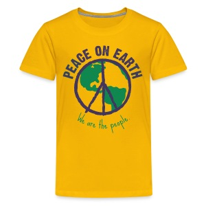 People's Earth - Teenager T-Shirt Unisex - Teenager Premium T-Shirt
