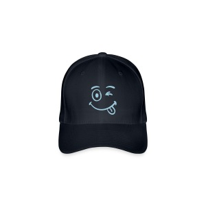 Flexfit Baseball Cap Smiley Face - Flexfit Baseball Cap