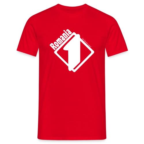 T-Shirt Romania 1! - Maglietta da uomo