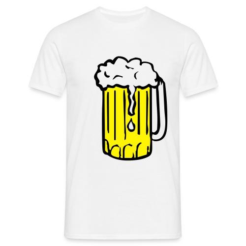 Biertjuh!!! - Mannen T-shirt