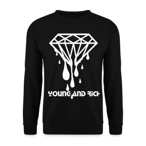 Young and Rich - Men's Sweatshirt