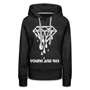 Young and Rich - Women's Premium Hoodie