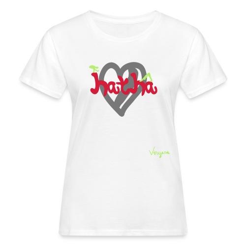Luonnonmukainen t-paita - Naisten luonnonmukainen t-paita