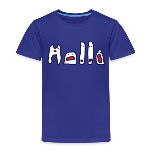 Hallo  - Kinder Premium T-Shirt