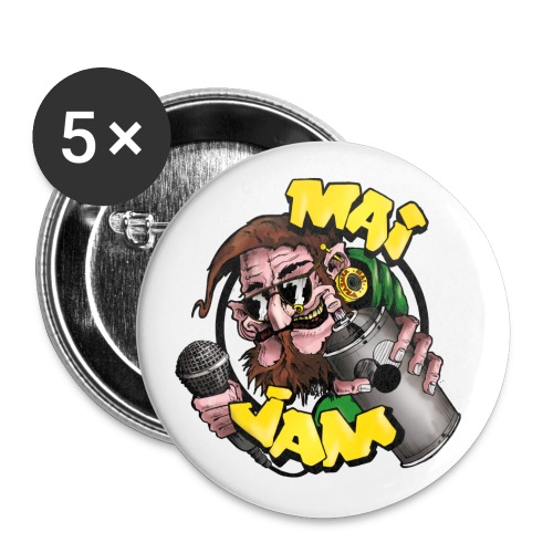 MaiJam Buttons 25mm (5er PACK) - Buttons klein 25 mm