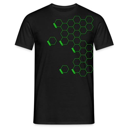 Hex Shoulder - Men's T-Shirt