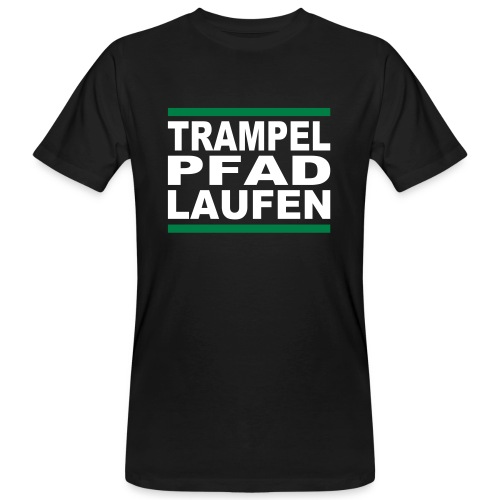 Bio-T-Shirt TRAMPELPFADLAUFEN - Männer Bio-T-Shirt