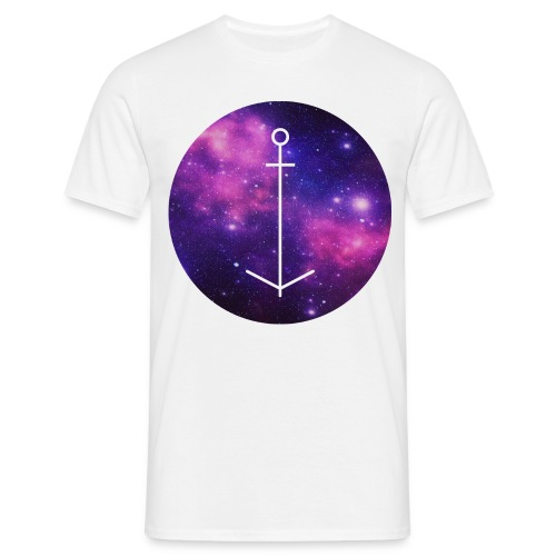 The Ball // Galaxy Anker - Männer T-Shirt