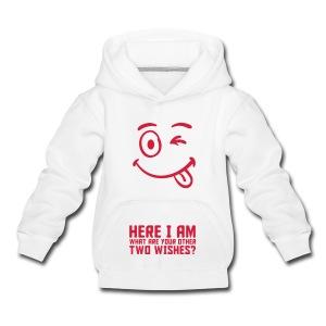 Kids Hoodie Here I Am - Kids' Premium Hoodie