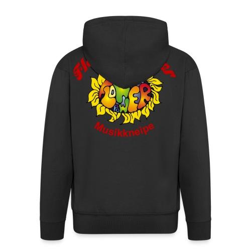 Flower Jacke - Männer Premium Kapuzenjacke