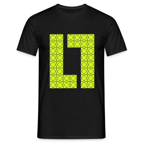 CIRCLES M-TEE YELLOW - Herre-T-shirt