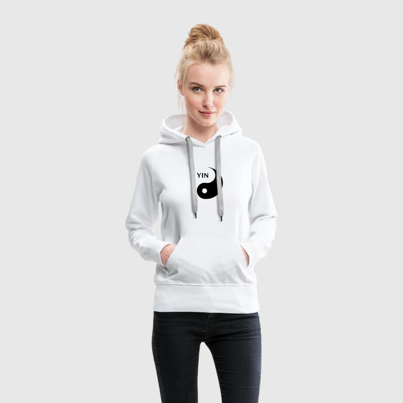 Yin looking for Yang, Part 1, tao, dualities Sudaderas - Sudadera con capucha premium para mujer
