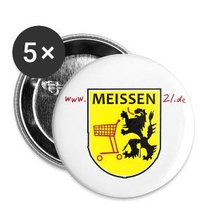 Anstecker MEISSEN - Buttons klein 25 mm
