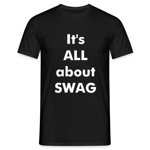 All About Swag - Herre-T-shirt