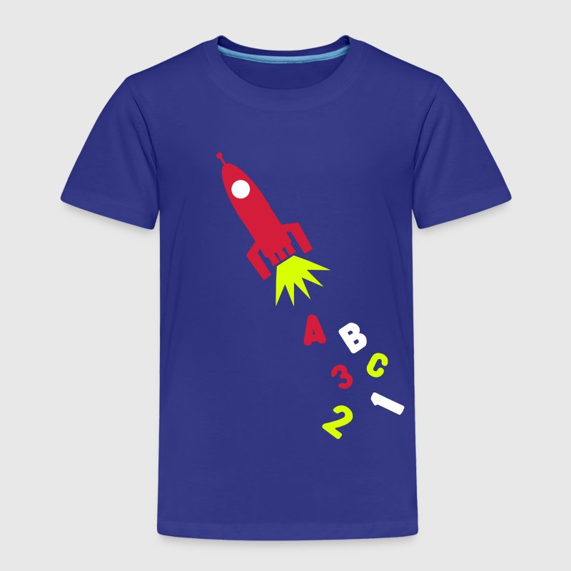A B C Rocket - Kinder Premium T-Shirt