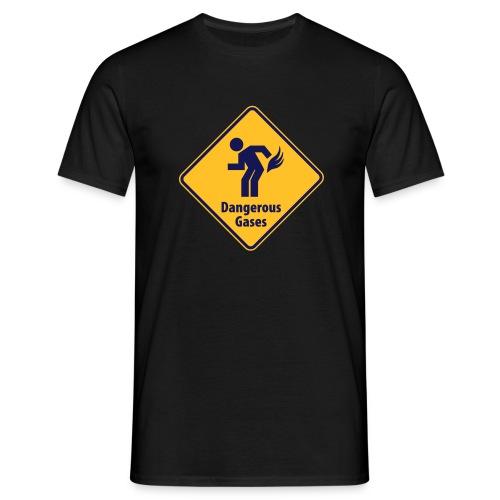 Dangerous gases. - T-shirt herr