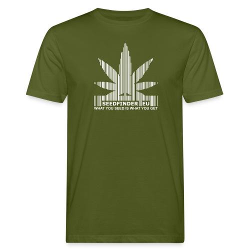 SeedFinder.eu Bio-TShirt - Männer Bio-T-Shirt