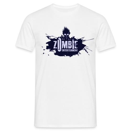 Zombie Entertainment Shirt! (Logo Blau-Blau) - Männer T-Shirt