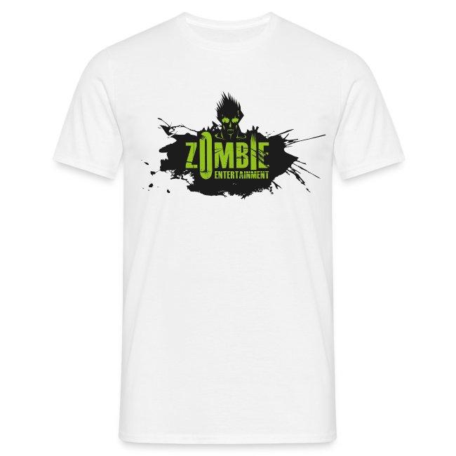 Zombie Entertainment Shirt! (Logo Schwarz-Grün)