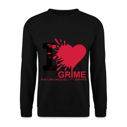 MQG I LOVE GRIME mens sweatshirt - Men's Sweatshirt