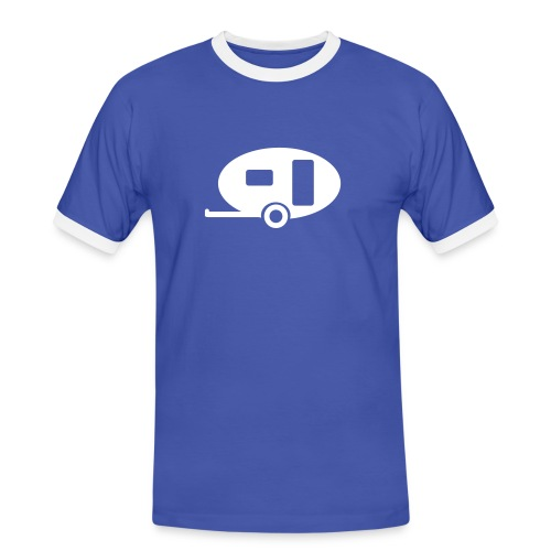 Kul t-shirt med kontraster til Herre - Kontrast-T-skjorte for menn