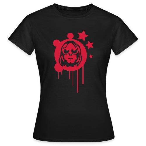 T-shirt Kurt lyrics (lady) - Maglietta da donna