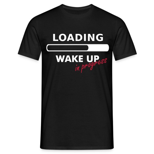 WAKE UP IN PROGRESS - T-shirt Homme