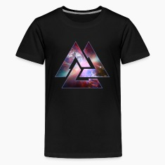 Cosmic Triangle Knot Shirts
