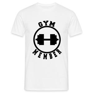 Gym Member - Men's T-Shirt