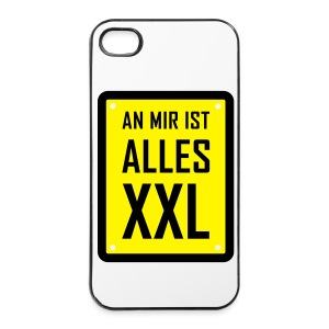 An mir ist alles XXL iPhone 4/4S Hard Case - iPhone 4/4s Hard Case