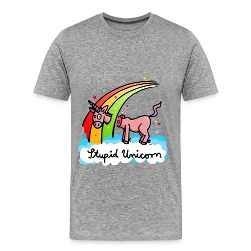 Stupid Unicorn  - T-shirt Premium Homme