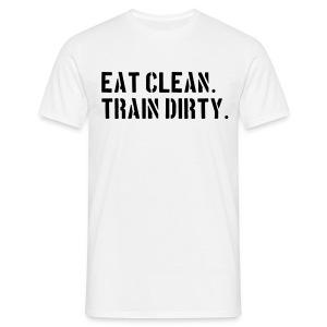 Eat Clean - Men's T-Shirt