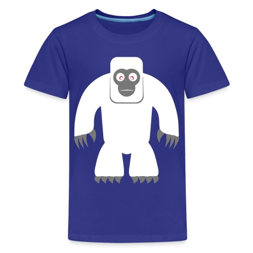 Yeti - Teenager Premium T-Shirt